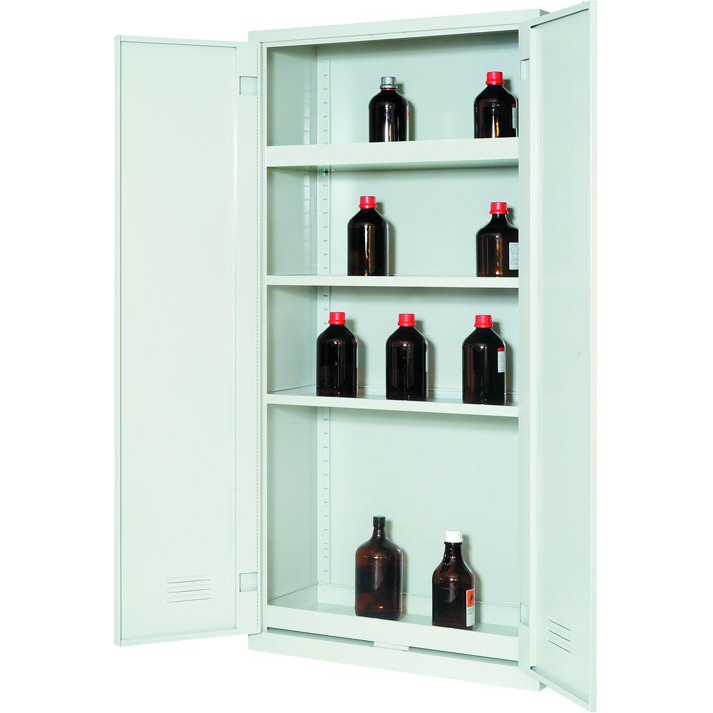 armoires de s curit conomiques pour produits corrosifs. Black Bedroom Furniture Sets. Home Design Ideas