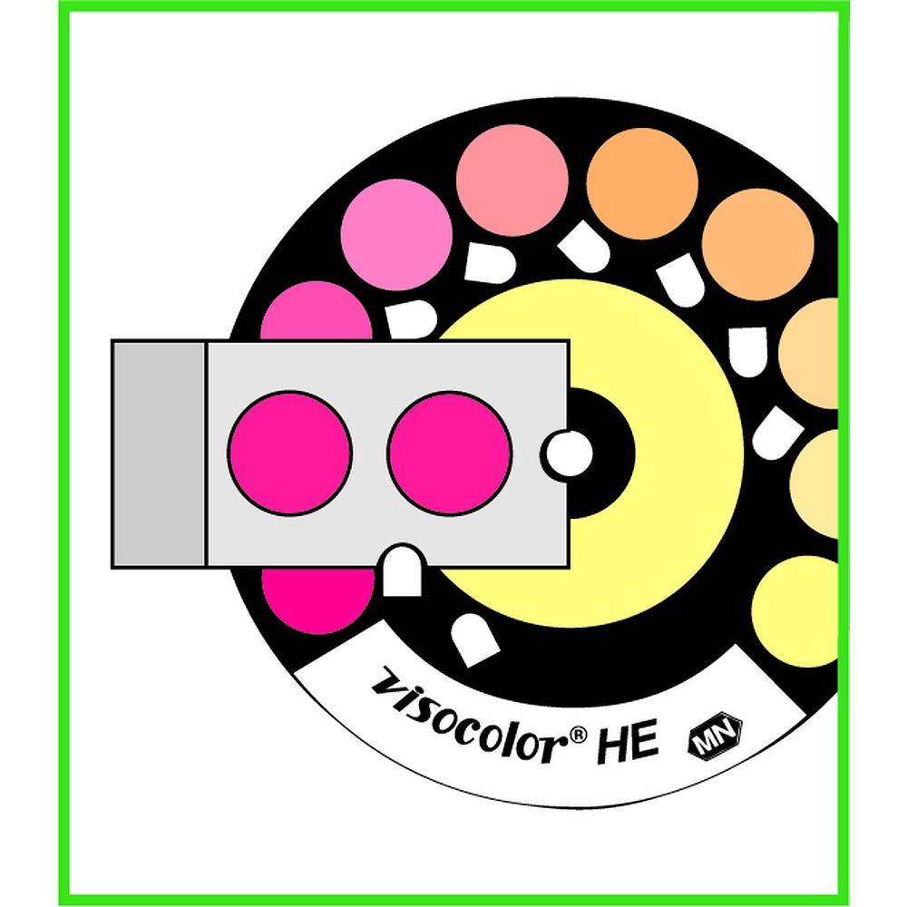 Kit haute sensibilit d 39 analyse de l 39 ammonium par comparateur colorim - Echelle de sensibilite ...