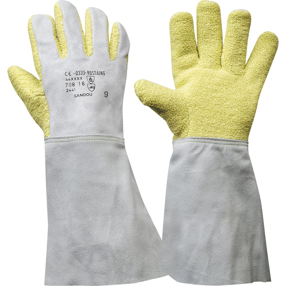 gants anti chaleur 400 c. Black Bedroom Furniture Sets. Home Design Ideas