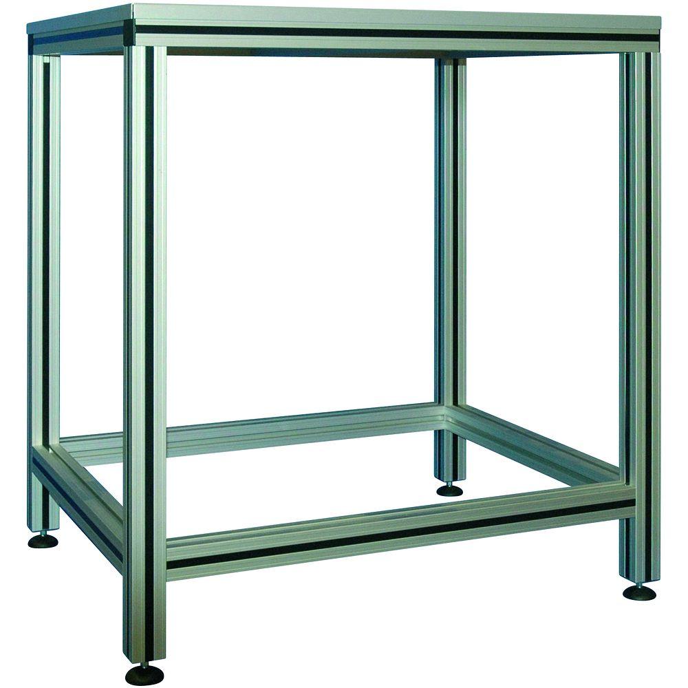 tables en tubes d 39 aluminium anodis. Black Bedroom Furniture Sets. Home Design Ideas