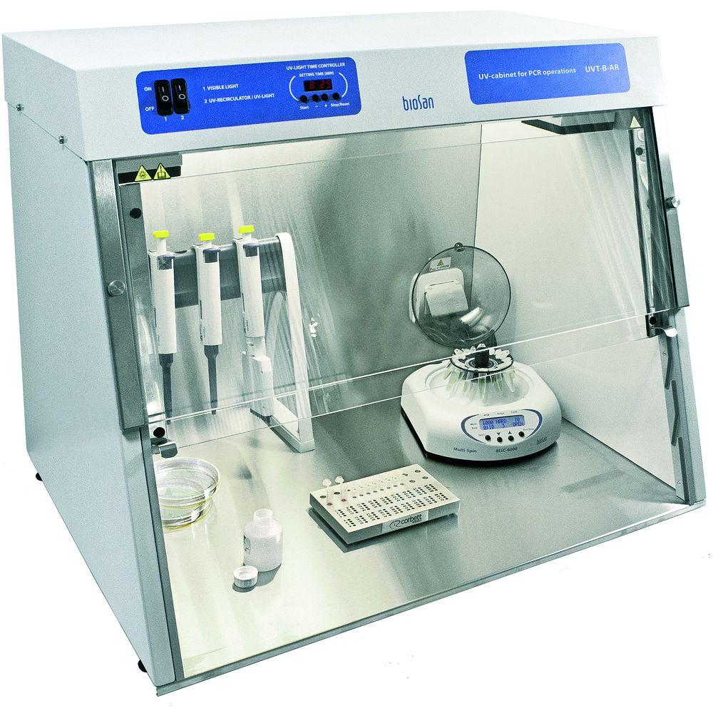 Enceinte de travail UV-PCR (grand modèle)