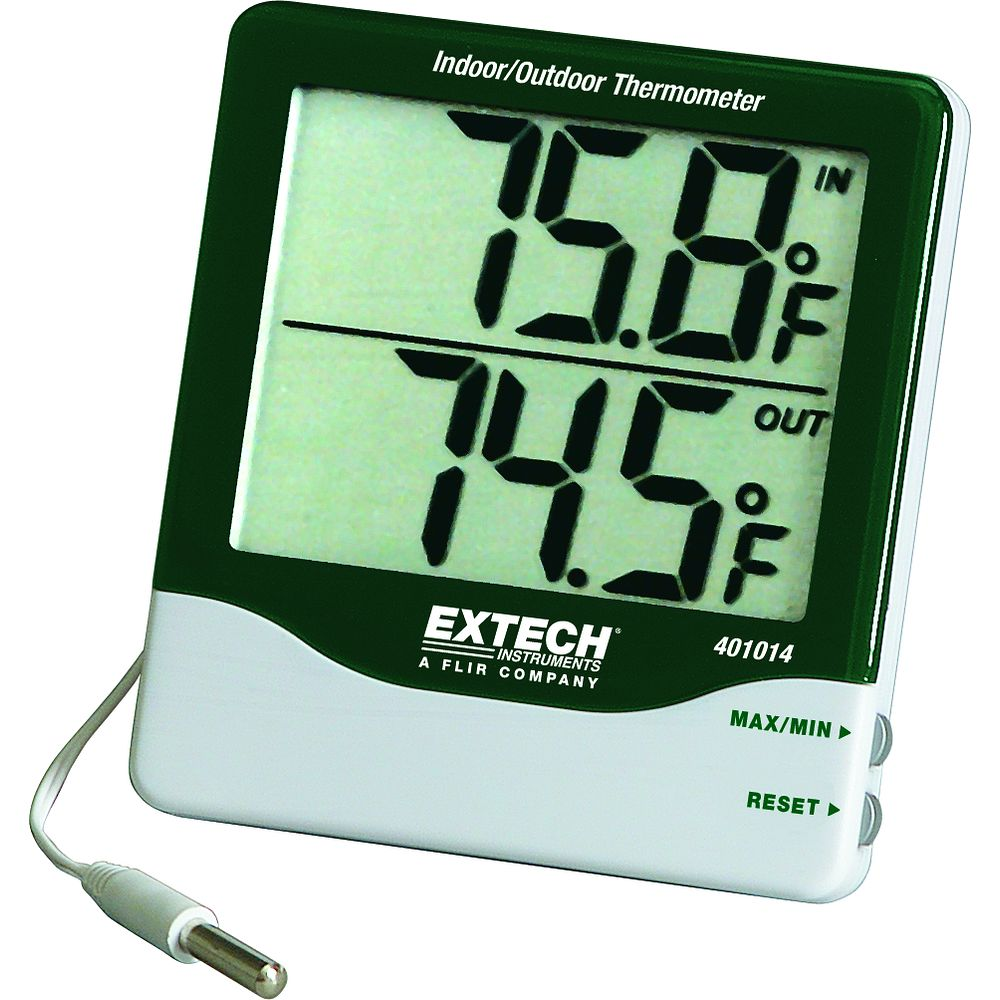 Thermom tre int rieur ext rieur for Thermometre exterieur geant